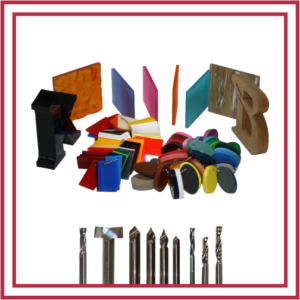 Router Bits For Plastic Fabrication and Signmaker